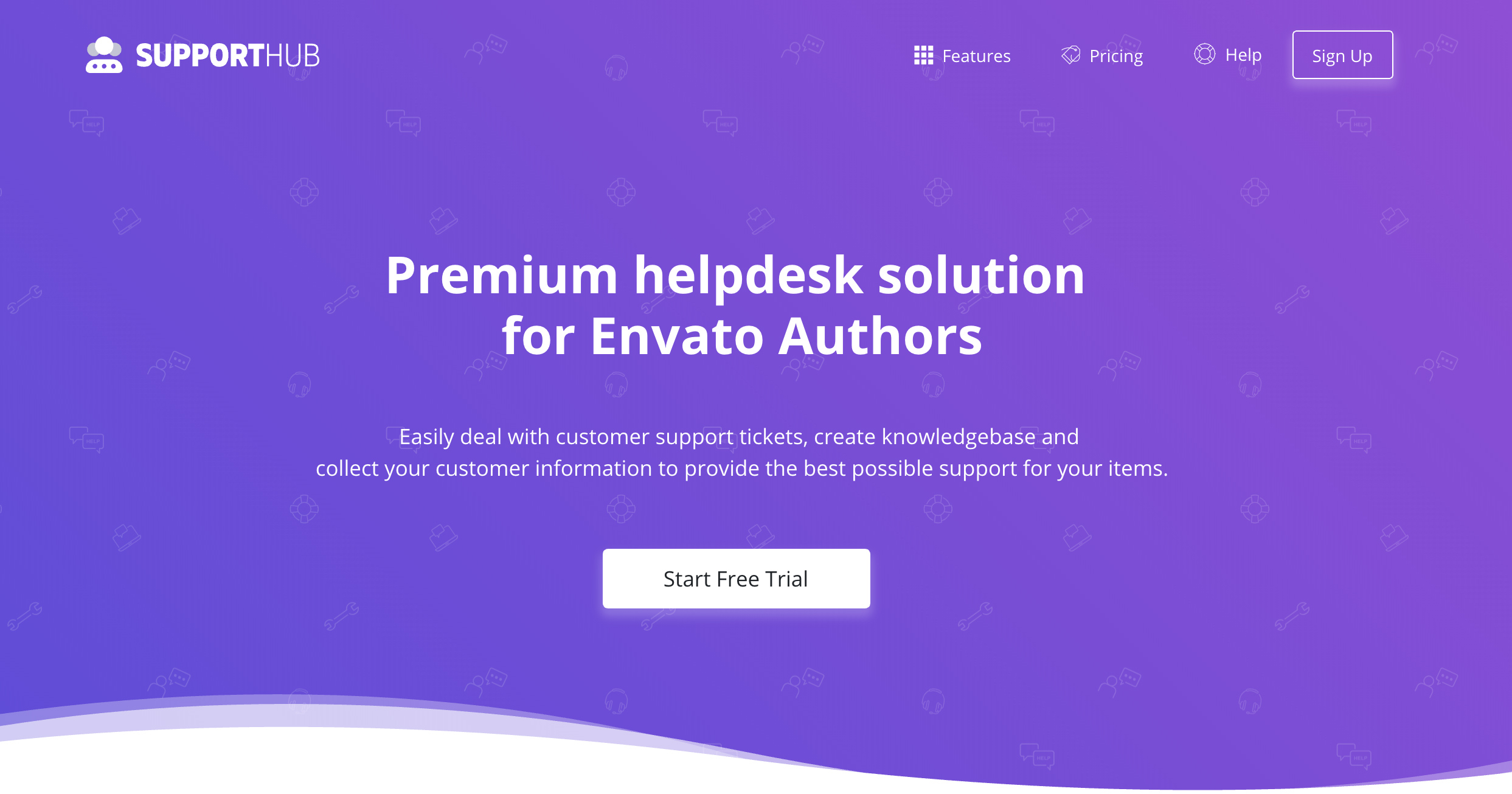 Support Hub - Premium helpdesk solution for Envato Authors, Small